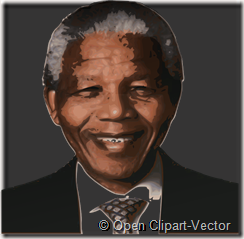 Nelson.Mandela-OpenClipart-Vector