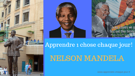1 chose par jour - Mandela