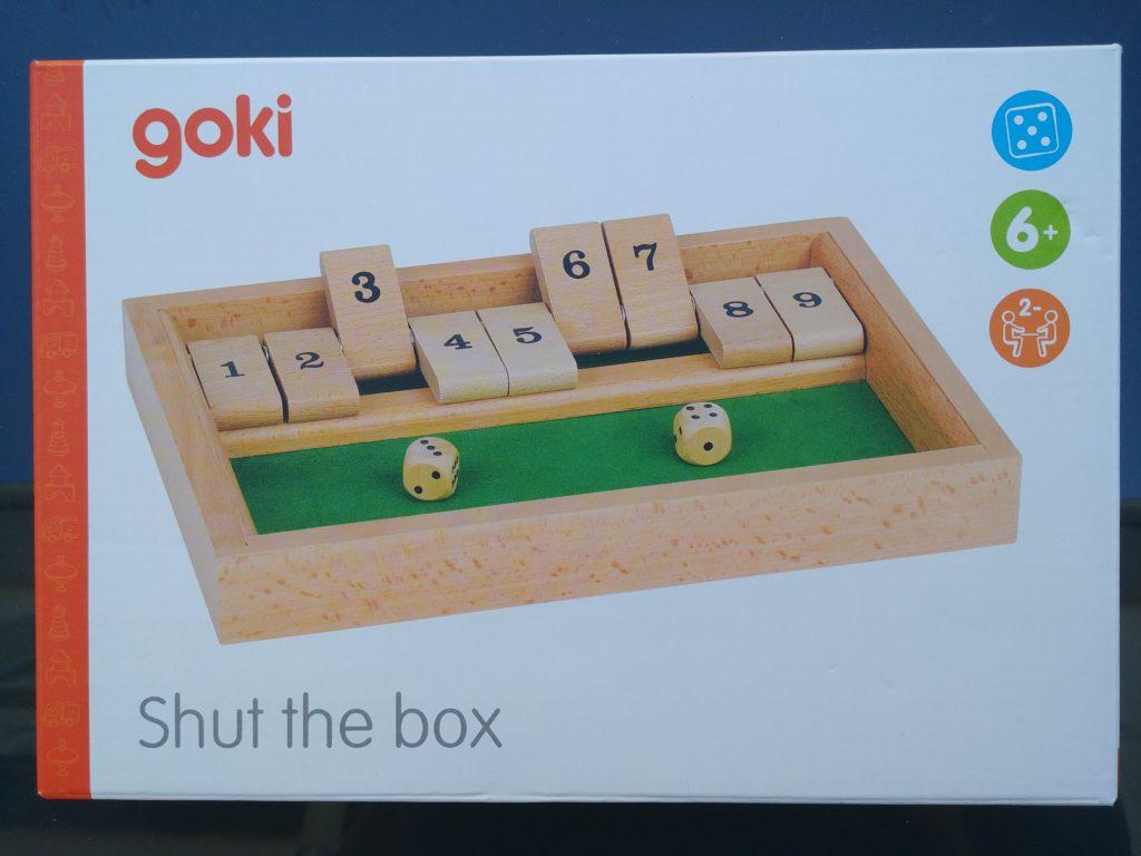 jeu math shut the box
