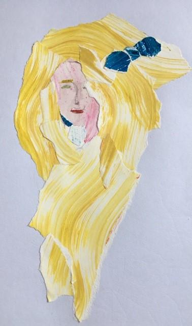 dessin cheveux