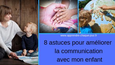 améliorer communication parent enfant